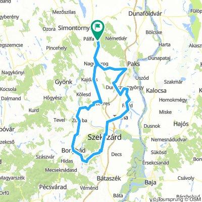 Dunaszentgyörgy-Fadd-Bonyhád felé