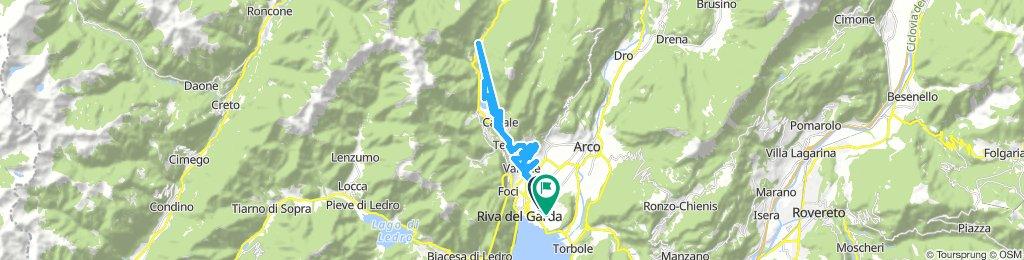 Lengthy ride through Riva del Garda