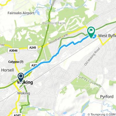 Short Sunday Track In Woking