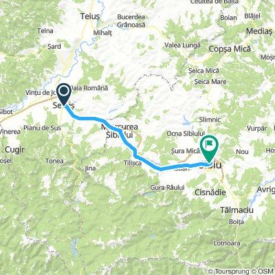 Romania-Sebes to Sibiu