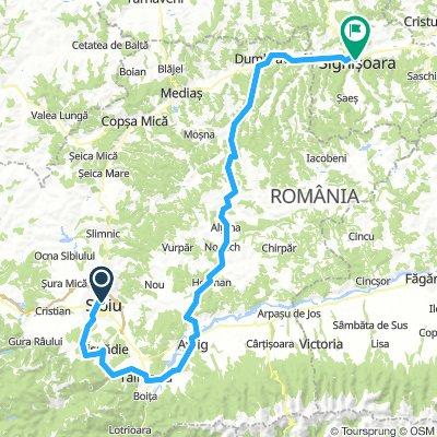 Romania-Sibiu to Sighisoara
