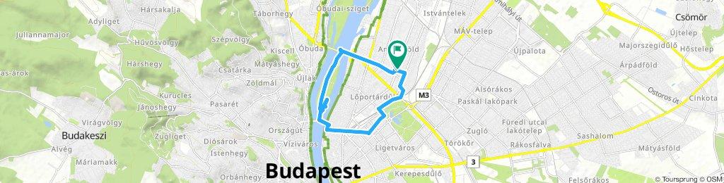 Long Sunday Route In Bp XIII. Ker.