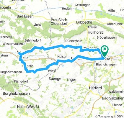 Antikcafe Melle(Runde von Löhne)84km