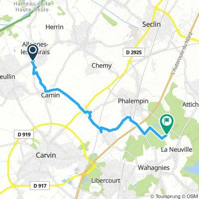 Extensive Dimanche Course In Allennes-Les-Marais