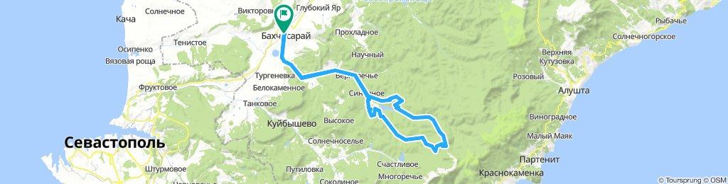 ШЕЛКОВИЧНОЕ - КЕРМЕН - ЛЕСНИКОВО - 12.08.2018г.