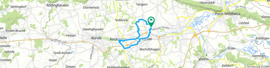 Löhne - Ulenburg - Kirchlengern - BrauseMühle - Mühlenwerk - Werre Löhne