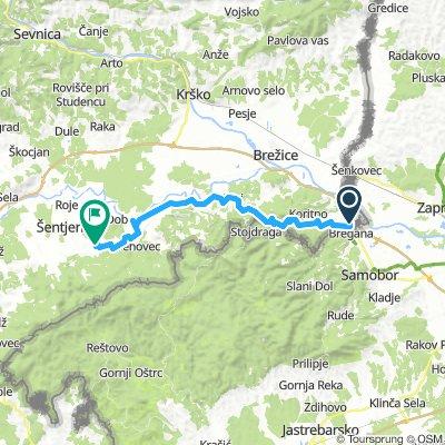 Camino Dolenjska day 1