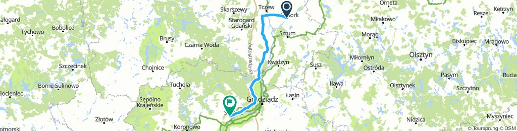 Trasa Malbork - Świecie / 2018.08.11