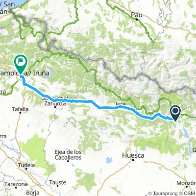 Transpirenaica 10: Boltaña - Pamplona