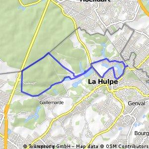 Walk/jogging or mountainbike La Hulpe