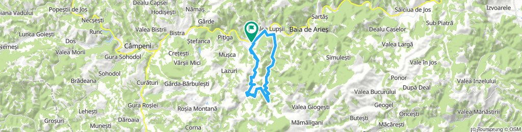 Lupsa - Valea Sesii - tura in jurul iazului de decantare