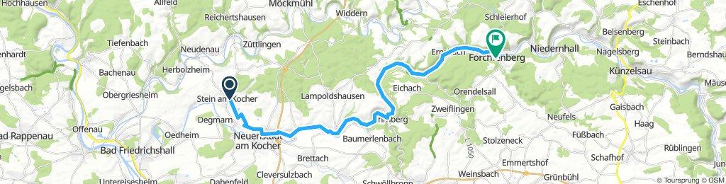 Forchtenberg nach Stein