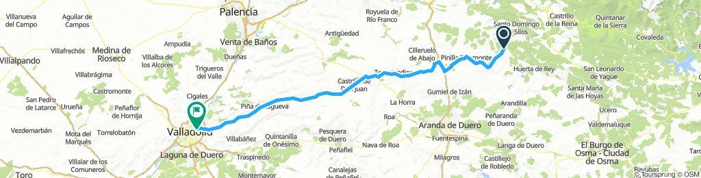 Rio Esgueva Carretera