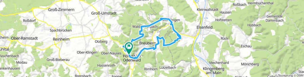 Hitzerunde über Steinbach und Wald-Armorbach