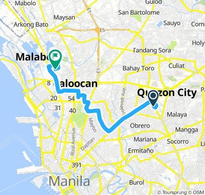Centris to Malabon