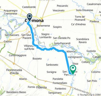 Cremona - San Secondo Parmense . Giorno 4
