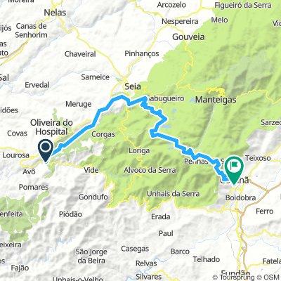 Pt Etappe 3a Ponte Alva das tres entradas - Covilhã