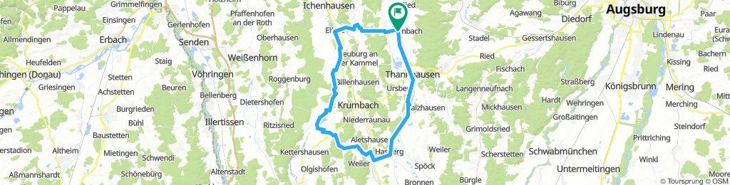 Burtenbach Ebershausen 64km