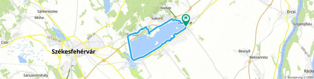 Velencei tó - kör