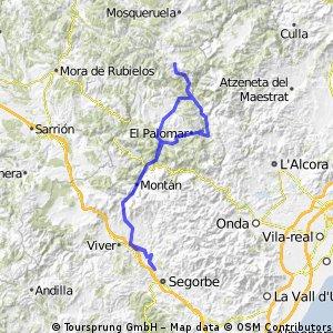 Navajas-Puertomingalvo-Navajas