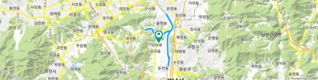 Snail-Like Tuesday Ride In Seongnam-Si
