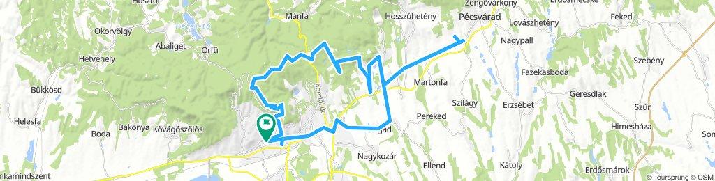 Mecsek túra Pécsről 1