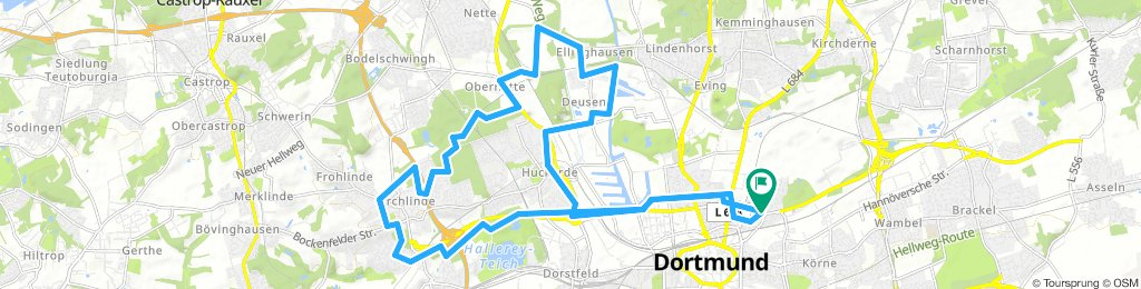 Borsigplatz - Stadtbezirk Huckarde Rundtour