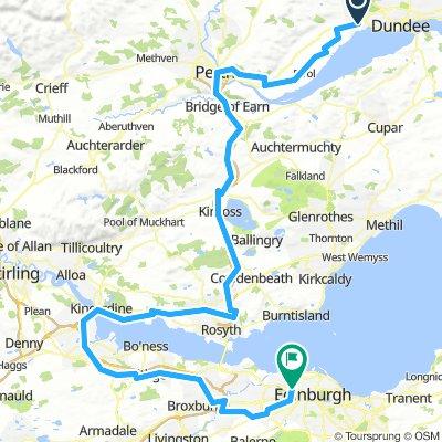 Tour Of Britain - Stage 1 (Dundee - Edingburugh)