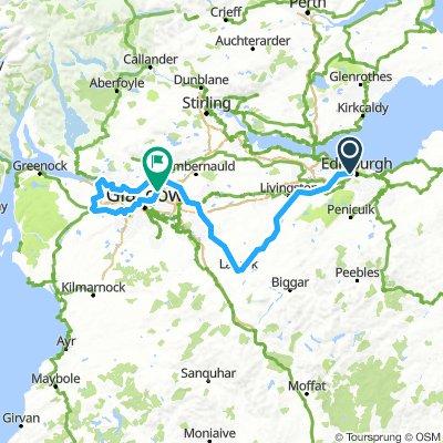 Tour Of Britain - Stage 2 (Edinburgh - Glasgow)