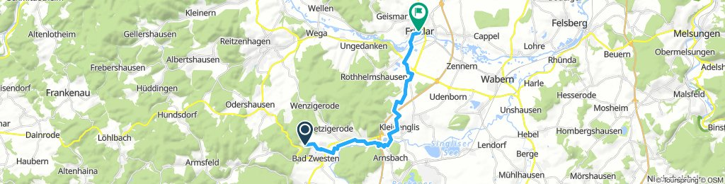 Zwesten - Fritzlar