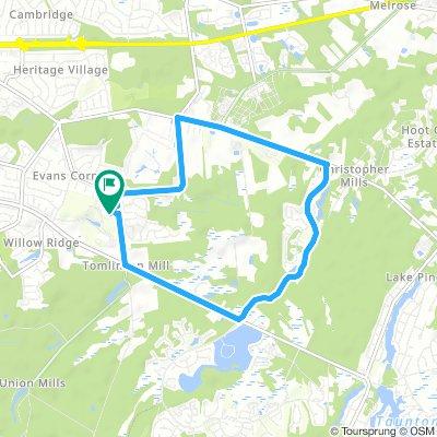 Cherokke HS route