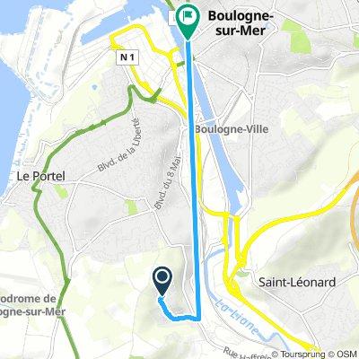 Snail-Like Mercredi Route In Outreau