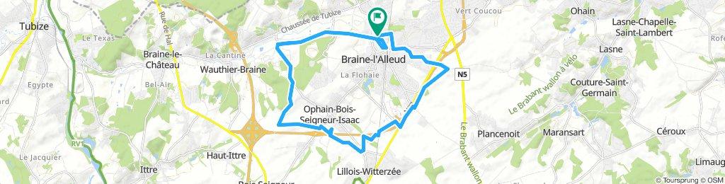Bike tour No1 20.4km