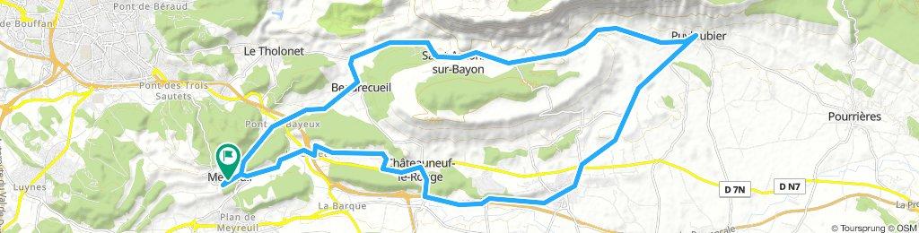 Meyreuil 40km
