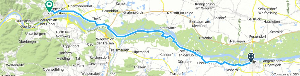 2. Tulln - Krems