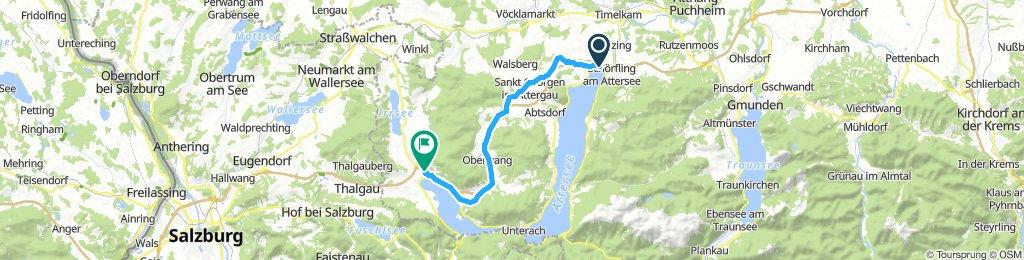 10. Seewalchen/Attwersee - Mondsee