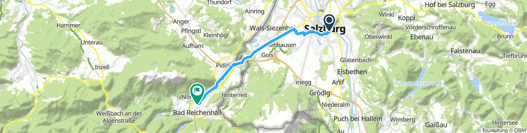 12. Salzburg - Bad Reichenhall