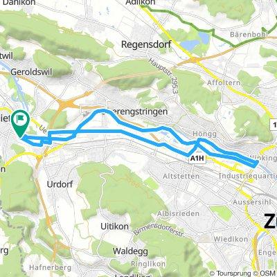 Extensive Mittwoch Route In Dietikon