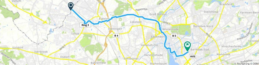Lengthy Mittwoch Track In Hamburg
