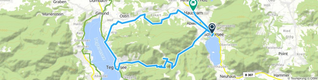 Snail-Like Wednesday Route In Schliersee And tegernsee