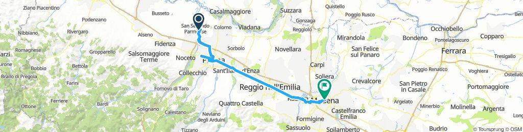 S. Secondo Parmense - Modena . Giorno 6
