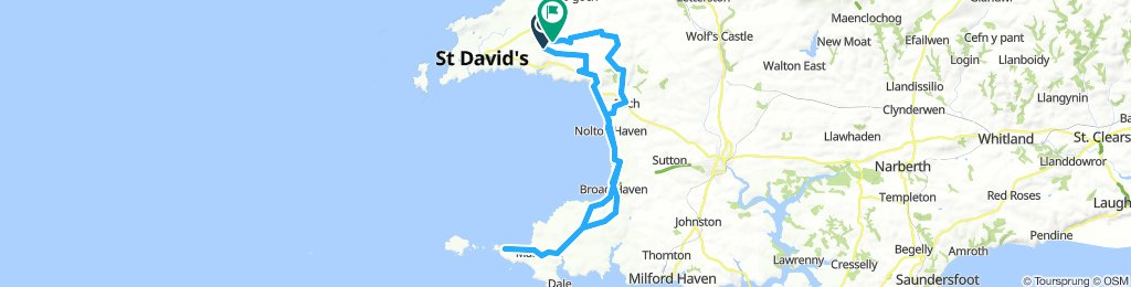 St Davids to Martins Haven and back
