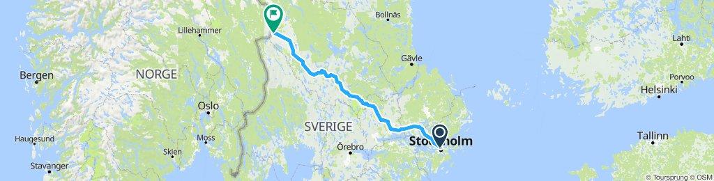 Stockholm - Rörbäcksnäs