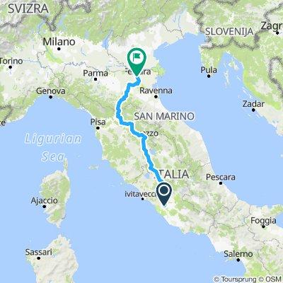 Costa a Costa  - Route version 1 (easy ;)