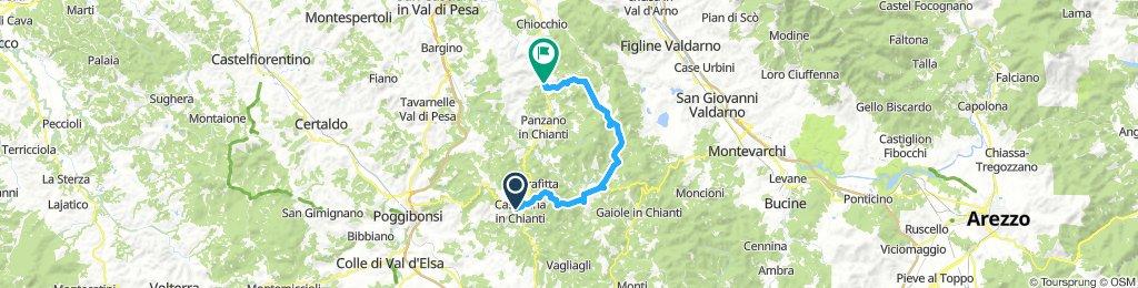 Castellina-Radda-Montemuro-Lucolena-Greve