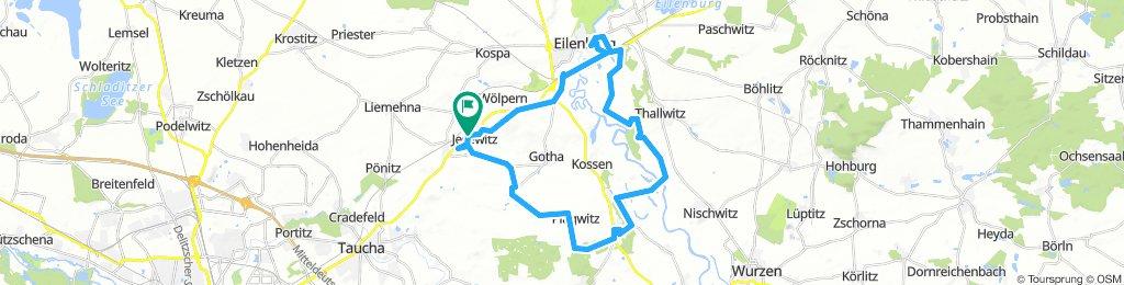 Jesewitz - Canitz - Lübschützer Teiche