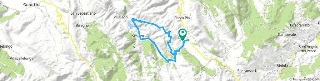 Monte Genzana pendici