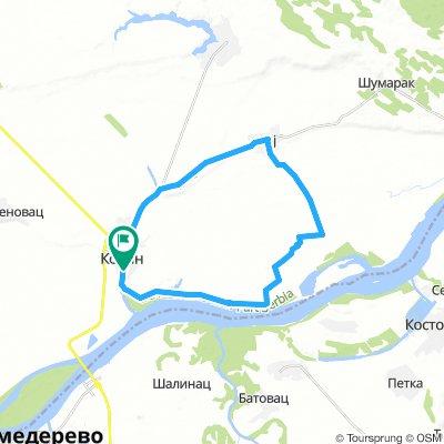 Kovin - Malo Bavaniste - Gaj - Ministar - Herbosan