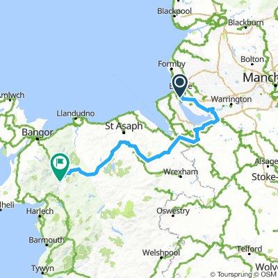 Tour Of Britain - Stage 8 (Liverpool - Blaenau Ffestiniog)