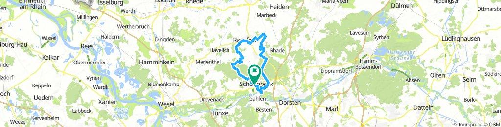 Schermbeck Raesfeld Tour
